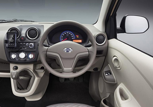 Datsun GO+ Steering Wheel Interior Picture