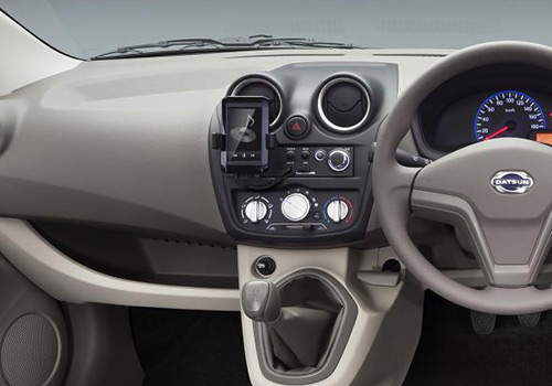 datsun go dashboard cabin interior picture. Black Bedroom Furniture Sets. Home Design Ideas