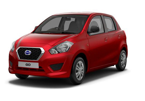 Datsun Go Front Side View Picture