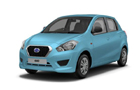 Datsun GO Sky Blue Color