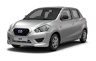 Datsun GO Silver Color