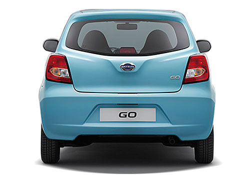 Datsun GO Rear View Exterior Picture