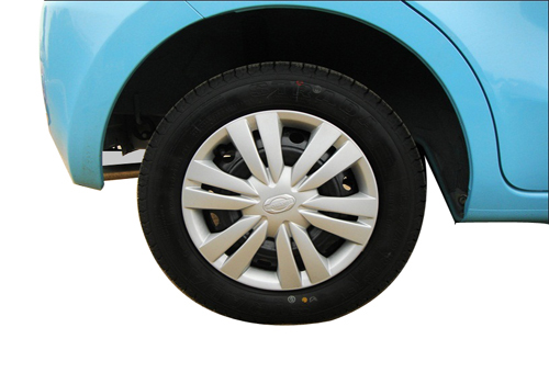 Datsun GO Wheel and Tyre Exterior Picture