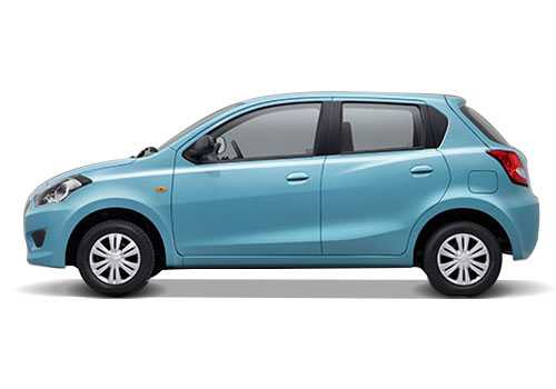 Datsun GO Front Angle Side View Exterior Picture