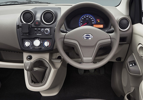 Datsun GO Steering Wheel Interior Picture