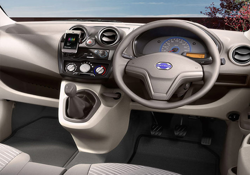 Datsun GO Rear AC Control Interior Picture