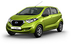 Datsun RediGo Lime Color
