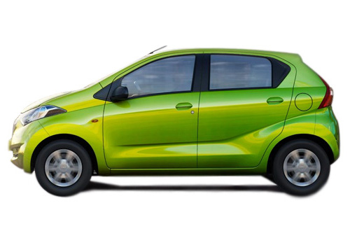 Datsun RediGo Front Angle Side View Exterior Picture