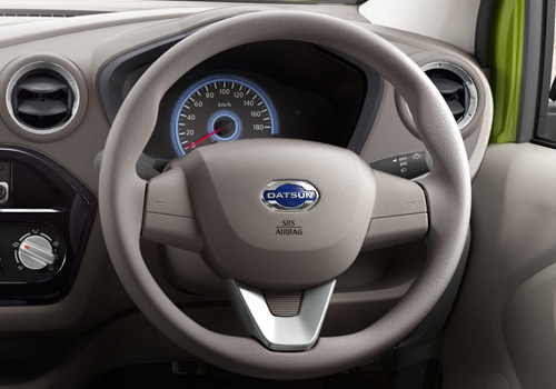 Datsun RediGo Steering Wheel Interior Picture