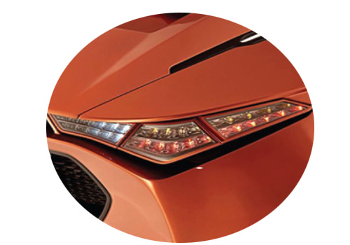 DC Avanti Tail Light Exterior Picture