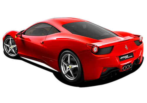 Ferrari 458 Italia Cross Side View Exterior Picture