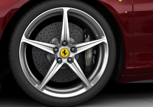 Ferrari 458 Italia Wheel and Tyre Exterior Picture