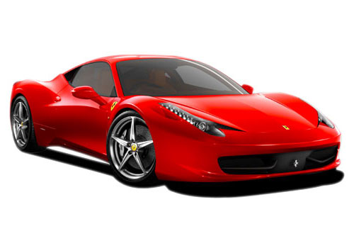 Ferrari 458 Italia Front Low Angle View Exterior Picture