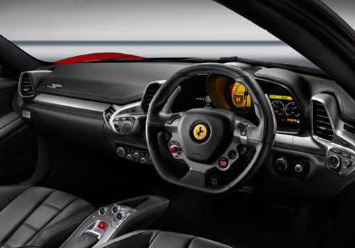 Ferrari 458 Italia Dashboard Interior Picture