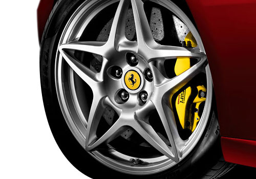 Ferrari 599 GTB Fiorano Wheel and Tyre Exterior Picture
