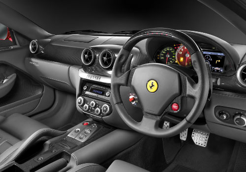 Ferrari 599 GTB Fiorano Steering Wheel Interior Picture