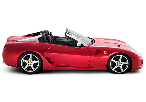 Ferrari California Side Medium View Exterior Picture