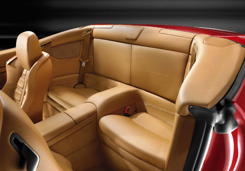 Ferrari California Rear Seats Interior Picture
