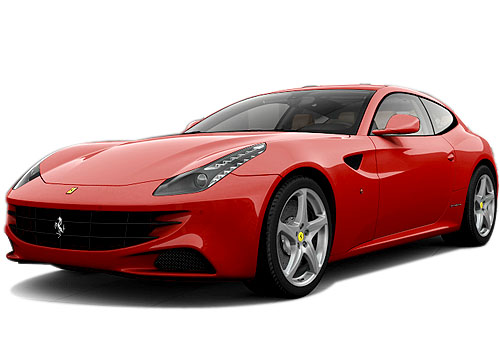 Ferrari FF Front Angle View Exterior Picture