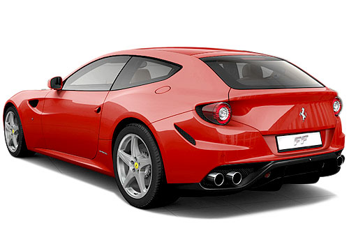 Ferrari FF Cross Side View Exterior Picture