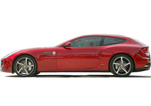 Ferrari FF Front Angle Side View Exterior Picture