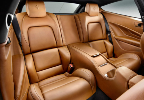 Ferrari FF Rear Seats Interior Picture