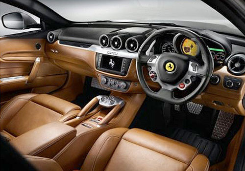 ferrari ff dashboard interior picture. Black Bedroom Furniture Sets. Home Design Ideas