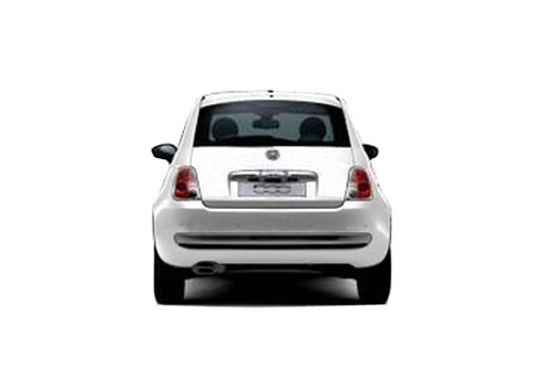 Fiat 500 Rear View Exterior Picture