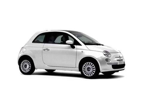 Fiat 500 Front Side View Exterior Picture