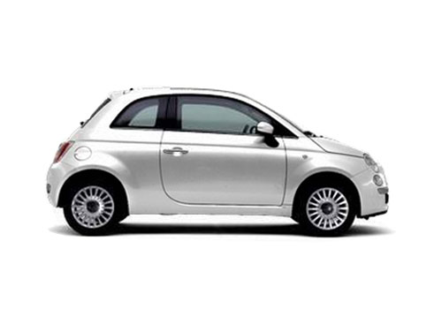 Fiat 500 Side Medium View Exterior Picture