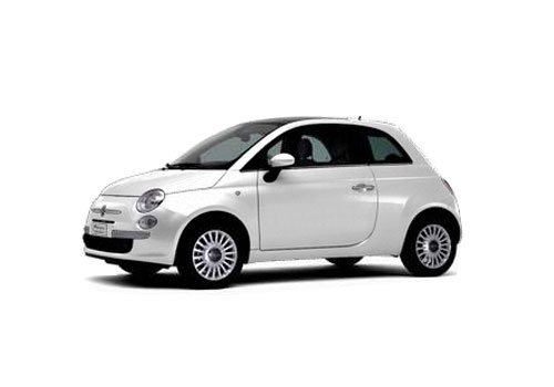 Fiat 500 Front Medium View Exterior Picture