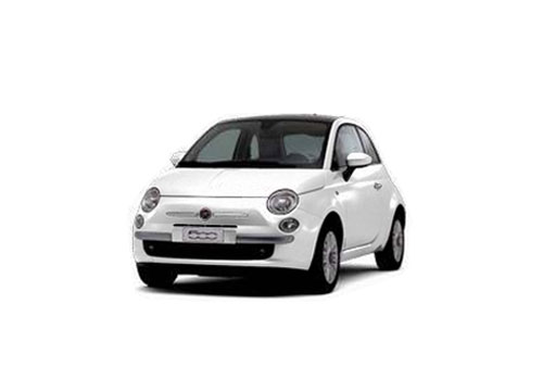 Fiat 500 Front High Angle View Exterior Picture