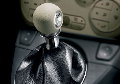 Fiat 500 Gear Knob Interior Picture