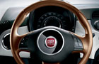 Fiat 500 Steering Wheel Picture