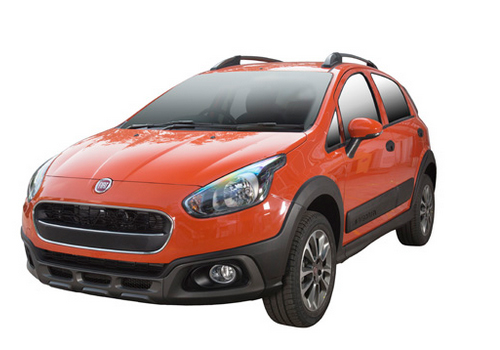 Fiat Avventura Front Angle View Picture