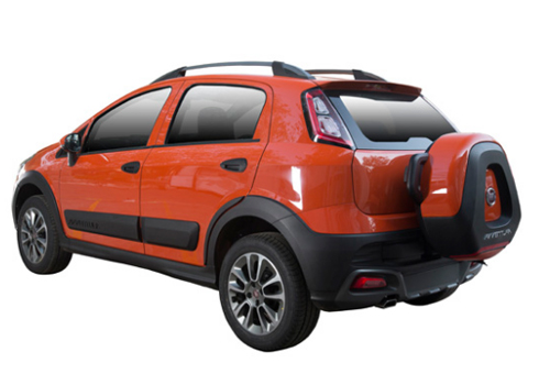 Fiat Avventura Cross Side View Exterior Picture