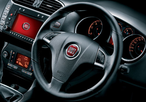 Fiat Bravo Steering Wheel Interior Picture