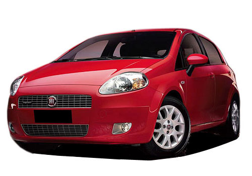 Fiat Punto Front View Side Picture