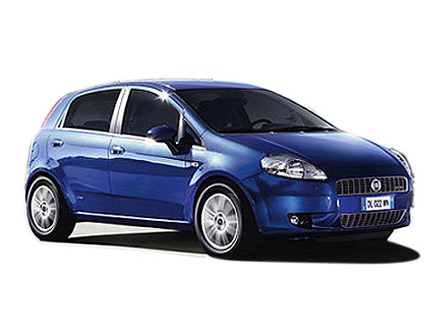 Fiat Punto Front Side View Picture