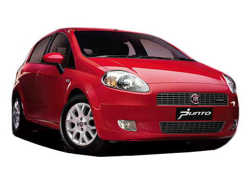 Fiat Punto Front Angle Low View Picture