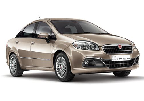 Fiat Linea Low Angle View Picture