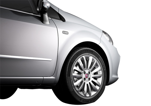Fiat Linea Wheel and Tyre Exterior Picture