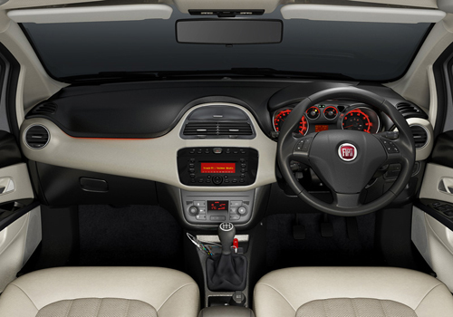 Fiat Linea Dashboard Interior Picture