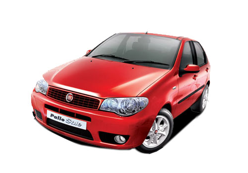 Fiat Palio Stile Front High Angle View Exterior Picture