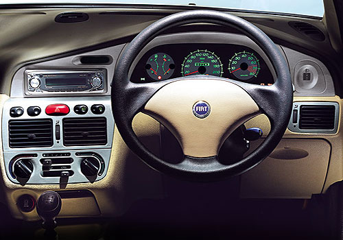 Fiat Palio Stile Steering Wheel Interior Picture