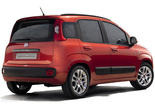 Fiat Panda Rear Angle View Exterior Picture
