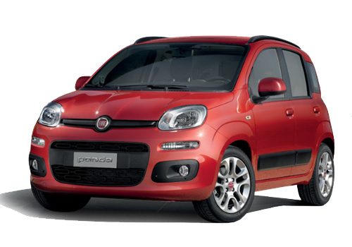 Fiat Panda Front Angle View Exterior Picture