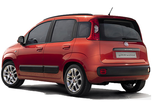 Fiat Panda Cross Side View Exterior Picture