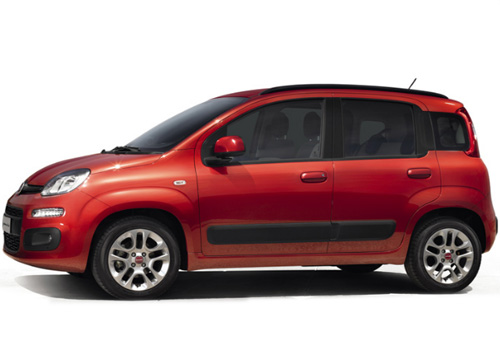 Fiat Panda Front Angle Side View Exterior Picture