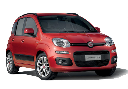 Fiat Panda Front Low Angle View Exterior Picture